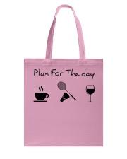 Plan for the day badminton Tote Bag thumbnail