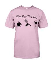 Plan for the day badminton Classic T-Shirt thumbnail