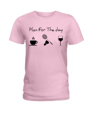 Plan for the day badminton Ladies T-Shirt thumbnail