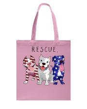 Rescue Pitties Tote Bag thumbnail
