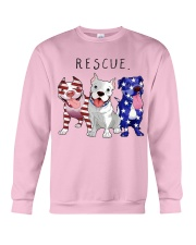 Rescue Pitties Crewneck Sweatshirt thumbnail