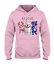 Rescue Pitties Hooded Sweatshirt front