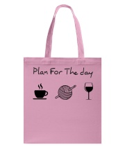 Plan for the day crochet Tote Bag thumbnail