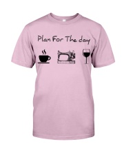 Plan for the day sewing Classic T-Shirt thumbnail