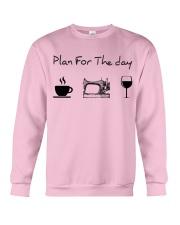 Plan for the day sewing Crewneck Sweatshirt thumbnail