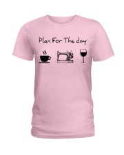 Plan for the day sewing Ladies T-Shirt thumbnail