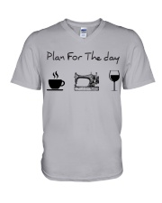 Plan for the day sewing V-Neck T-Shirt thumbnail
