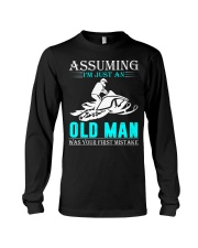 Snowmobile old man Long Sleeve Tee thumbnail