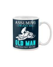 Snowmobile old man Mug thumbnail