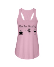 Plan for the day disc golf Ladies Flowy Tank thumbnail