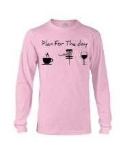 Plan for the day disc golf Long Sleeve Tee thumbnail