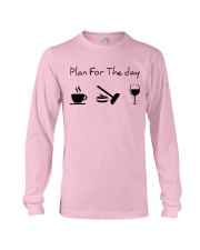 Plan for the day Curling Long Sleeve Tee thumbnail
