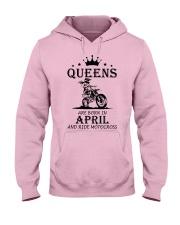 queens motocross-april Hooded Sweatshirt front