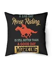 bad day horse riding Indoor Pillow tile
