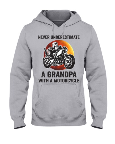never underestimate a grandpa with motorcycle