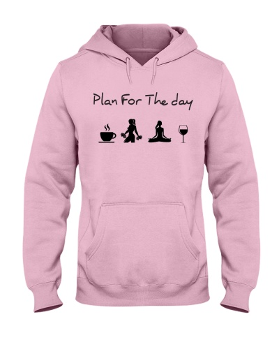 Plan for the day gym and yoga