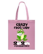 frog lady Tote Bag thumbnail