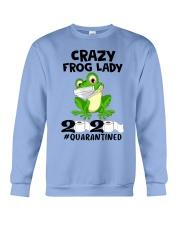 frog lady Crewneck Sweatshirt thumbnail
