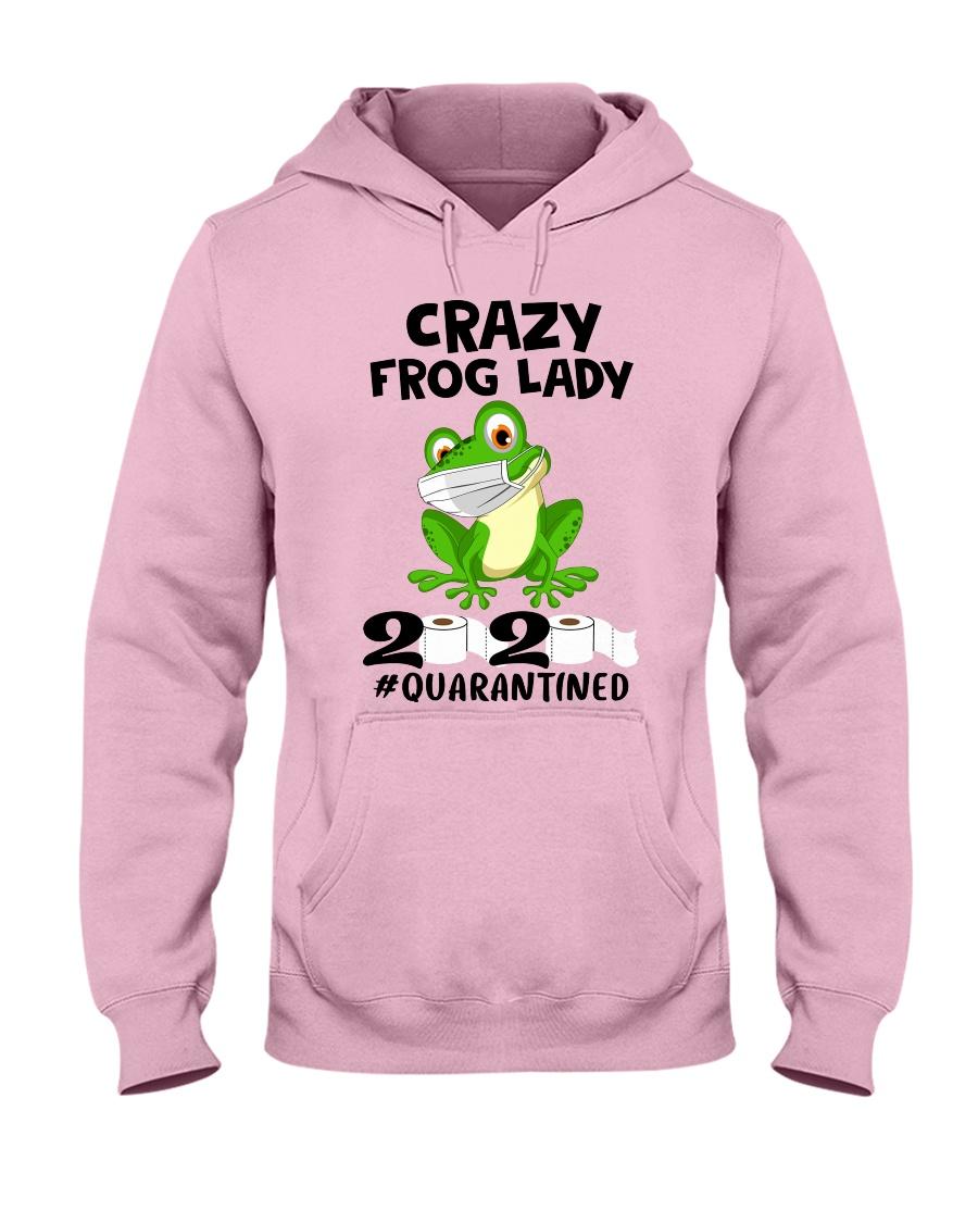 frog lady Hooded Sweatshirt