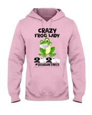 frog lady Hooded Sweatshirt front