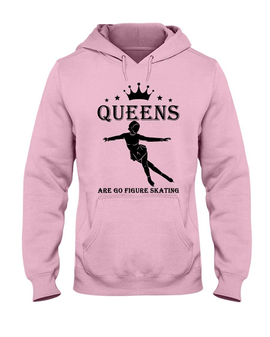 queens figure skating Hooded Sweatshirt