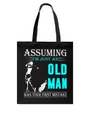 golf old man Tote Bag thumbnail