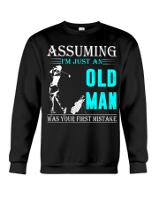 golf old man Crewneck Sweatshirt thumbnail
