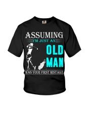 golf old man Youth T-Shirt thumbnail