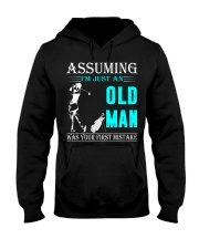 golf old man Hooded Sweatshirt front