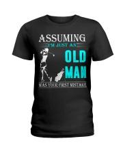 golf old man Ladies T-Shirt thumbnail