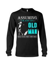 golf old man Long Sleeve Tee thumbnail
