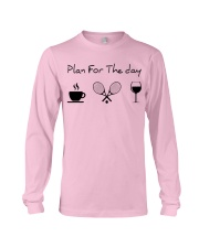 Plan for the day tennis Long Sleeve Tee thumbnail