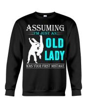 judo old lady Crewneck Sweatshirt thumbnail