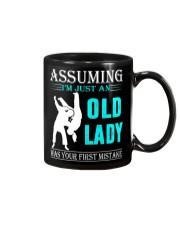 judo old lady Mug thumbnail