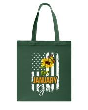 January girl Tote Bag thumbnail