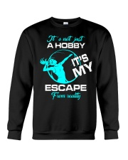 Volleyball hobby lady Crewneck Sweatshirt thumbnail