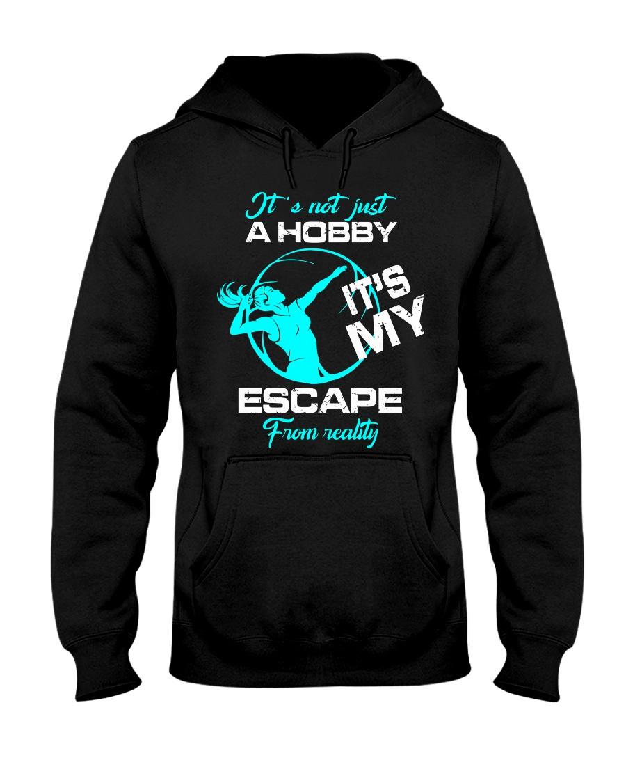Volleyball hobby lady Hooded Sweatshirt