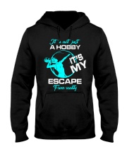 Volleyball hobby lady Hooded Sweatshirt front