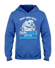 papasaurus Hooded Sweatshirt front