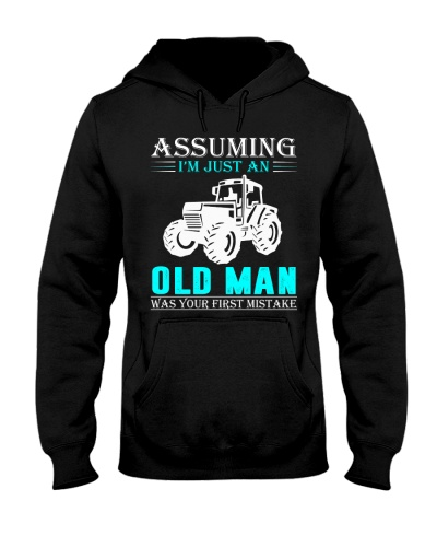 tractor old man
