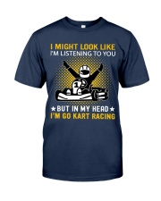 karting in my head Classic T-Shirt tile