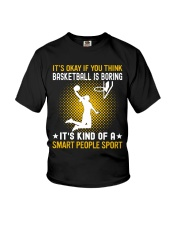 basketball smart sport lady Youth T-Shirt thumbnail