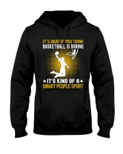 basketball smart sport lady Hooded Sweatshirt front
