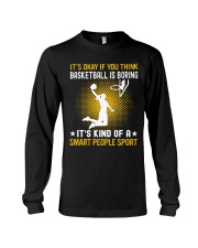 basketball smart sport lady Long Sleeve Tee thumbnail