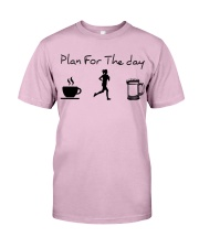 Plan for the day jogging beer Classic T-Shirt thumbnail
