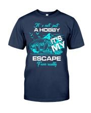 camping hobby lady Classic T-Shirt thumbnail