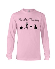 Plan for the day running and a lab Long Sleeve Tee thumbnail