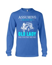 Monster truck old lady Long Sleeve Tee thumbnail