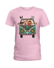 Desert Highway - n002 Ladies T-Shirt thumbnail