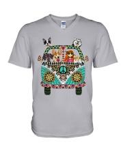 Desert Highway - n002 V-Neck T-Shirt thumbnail